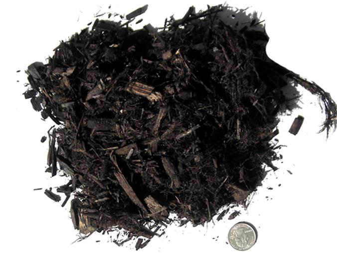 Mulch - black gorilla mulch