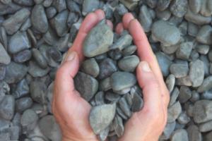 "Drain Rock 3/4"""